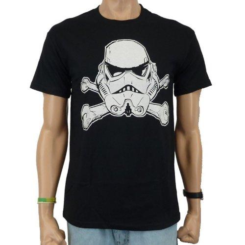 STAR WARS-Trooper T-Shirt Skull Band, Nero, S