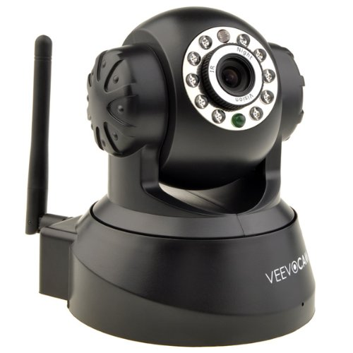 Neewer® P2P Wireless Pan & Tilt Ip/Network Internet Camera, Surveillance Camera System, Baby Monitor, Pets Monitor, Home Security, Two-Way Audio, Night Vision, Built-In Microphone With Cell Phone Remote Monitoring, Works With: Iphone, Ipad, Android Phone,
