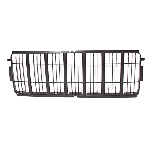 CarPartsDepot 02-04 Jeep Liberty Limited Front Grille Insert CH1200243 Matte Black Grill Grid (Jeep Liberty Grill compare prices)