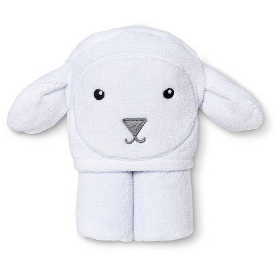 Circo Newborn Lamb Wrap Towel - White