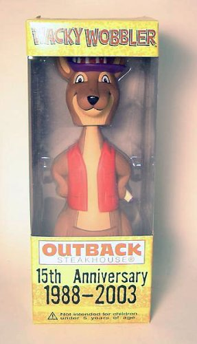 Outback Steakhouse Kangaroo Wacky Wobbler