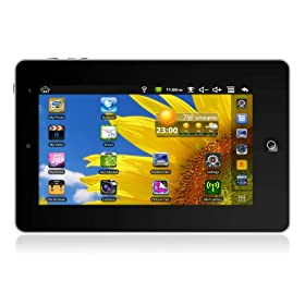 Ematic eGlide 7-Inch Touch Screen Tablet with Android 2.1 - Black