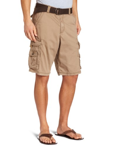Lee Men's Big-Tall Dungarees Belted Wyoming Cargo Short, Bronze, 46 (Big And Tall Shorts compare prices)