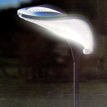62 LED Solarleuchte mit Bewegungsmelder Solarstrahler Gartenlampe Wandleuchte