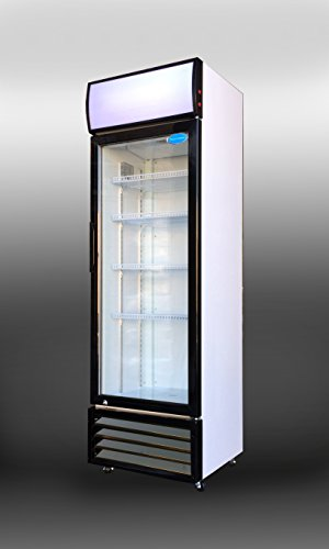 SS-P238WA Commercial Glass Door Upright Display Beverage Cooler 12 cubic foot Refrigerator (2 Door Beverage Cooler compare prices)
