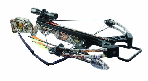 Arrow Precision Inferno Firestorm Ii Compound Crossbow With Free Rope Cocker, Camouflage front-929099