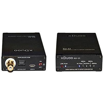 xDuoo XU-01 24Bit/192KHz portable USB to SPDIF converter