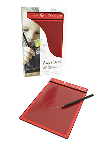 Improv Electronics Boogie Board Red Screen Red Lcd Writing Tablet Electronic Toy