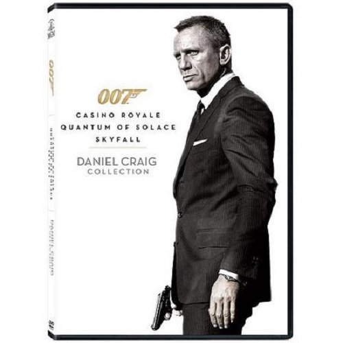 007 James Bond Daniel Craig Collection (Casino Royale / Quantum of Solace / Skyfall) (Twin Peaks Dvd Collection compare prices)
