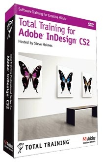 Total Training for Adobe InDesign CS2 - self-training course - DVD