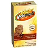 Metamucil Cinnamon Spice Natural Fiber Wafers provide a great tasting way to increase your daily fiber intake. - Metamucil Fiber Wafers, Cinnamon Spice, 24 ct (Pack of 5)