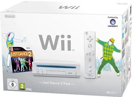 Wii - Konsole inklusive Just Dance 2, weiß [Edizione: Germania]
