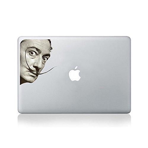 Salvador Dali Staring Sticker in Vinile per Macbook (13 pollici e 15 pollici) / Computer Portatile / Chitarra