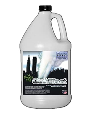 1 Gal - QuikBlast - Best Fluid for Chauvet Geysers - CO2 Blast Effect Fog Machine Fluid from Froggys Fog
