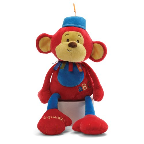 Gund Baby Gund Fun Circus Monkers The Monkey Rattle
