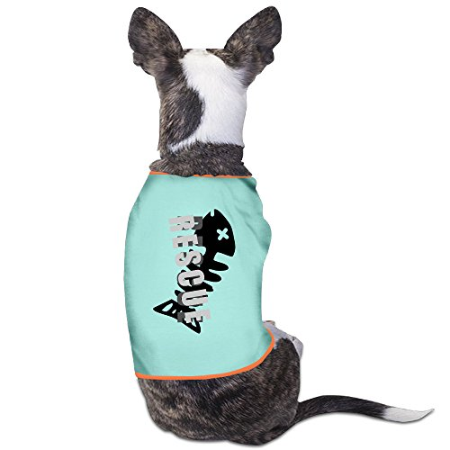 [Customed Pet Shirt Fish Rescue For Dogs Cat 100% Polyester] (Costumes Halloween Yahoo)