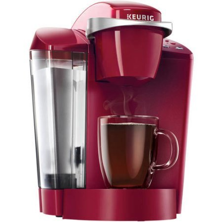 Keurig K50 Coffee Maker | Removable 48 oz. Water Reservoir | Indicator Lights (Rhubarb)