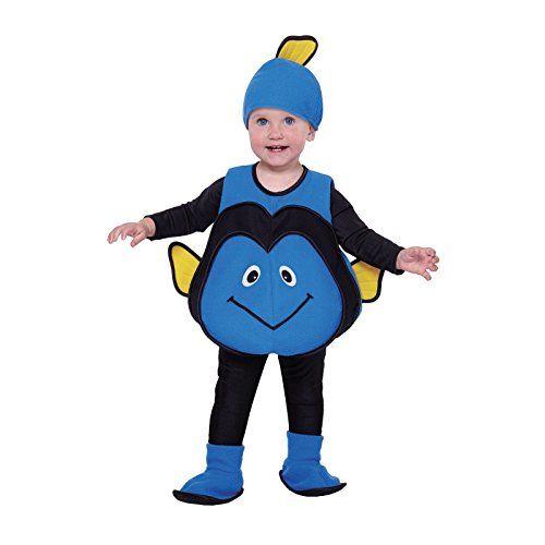Totally Ghoul Blue Fish Vest Baby / Toddler Halloween Costume