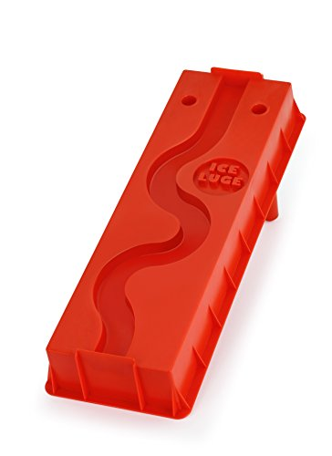 Barbuzzo Ice Luge (Single Track), Red