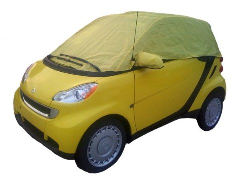 Smart Car Custom Made Waterproof All Weather Vehicle Cover: Not Toy Accessories Convertible Top & Fortwo FREE GIFT 450 451 Automobiles - Not for Hail: Protects Cargo Charger Controls Decal Mats Seats Speakers Stereo Other Interior/Exterior Parts with Best Cover Warranty (Smart Car Cargo Cover compare prices)