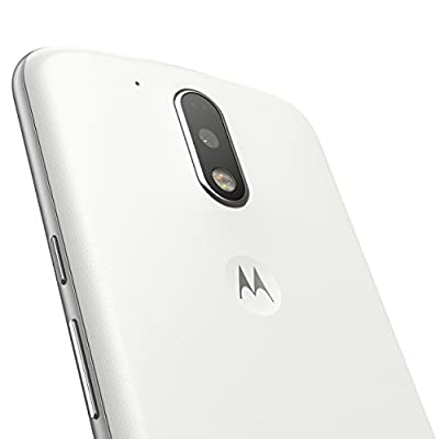 Moto G Plus, 4th Gen (White, 32 GB)