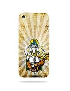 alDivo Premium Quality Printed Mobile Back Cover For Apple iPhone 5C / Apple iPhone 5C Printed Lord Ganesh Mobile Case / Cover (MKD075)