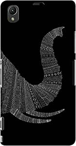 DailyObjects Aztec Elephant Trunk Case For Sony Xperia Z1