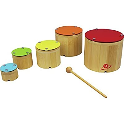 Nicko Nesting Xylophone Bamboo Children's Wooden Musical Toy Set