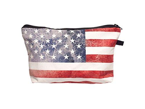 Beauty Case, borsa da viaggio, borsetta da toilette sacco sacchetto bagno per cosmetici trucco make up motivi diversi, Kosmetiktasche KT-002-050:KT-031 USA