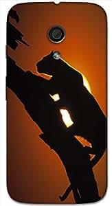 Great 3D multicolor printed protective REBEL mobile back cover for MotoG-2 (2nd Gen ) - D.No-DEZ-2071-motog2