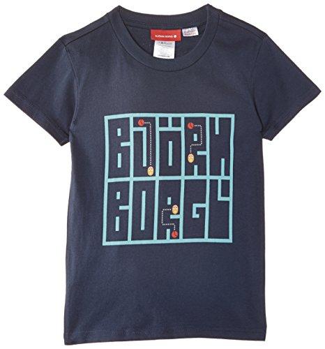 Björn Borg Footwear - Parte superiore pigiama, Bambini e ragazzi, Blue (Dark Denim), Taglia produttore: 10-11 Years