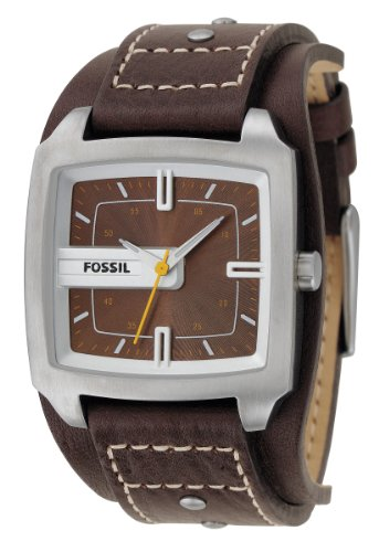Fossil Men's JR9990 Brown Leather Watch