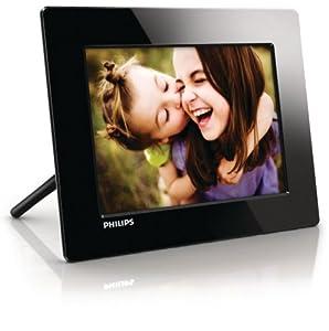 """Philips SPF1208/10 - Marco digital de 8 """" (800 x 600 pixeles), Negro"""