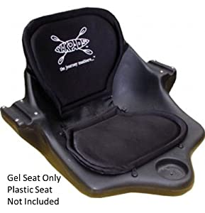 High-Back Gel Paddle Saddle P3