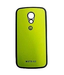 OFM Back Cover for Motorola Moto G2 , 2nd Gen - Green