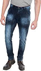 E Fashion Up Men's Skinny Fit Denim Jeans J3_Light Blue _30