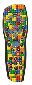 Lego Brick Sticker/Skin sky+ hd Remote controller/controll sticker, r1