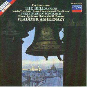 Rachmaninov: The Bells, Op. 35 / 3 Russian Songs, Op. 41 : CLA 994