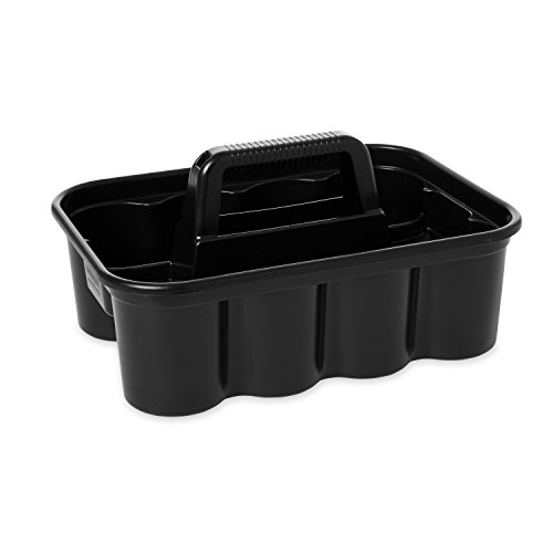 Rubbermaid Commercial FG315488BLA Deluxe Carry Caddy, Black (Cleaning Container compare prices)