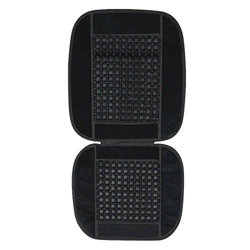 Vheelocityin Car Wooden Bead Seat Cover Black For Maruti Suzuki Celerio