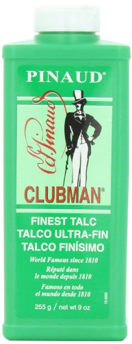 Clubman Pinaud Finest Talc Powder, 9 Ounce (Pack of 3)