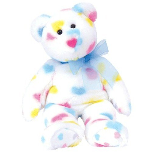 TY Beanie Buddy - KISS ME the Valentine's Bear - 1