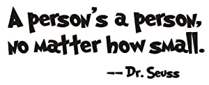 Dr Seuss A Persons A Person from Epic Designs