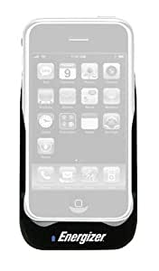 Energizer AP1000 Protective Case with Built-In Rechargeable Battery for iPhone 3G/3GS with 1000 mAh - Black