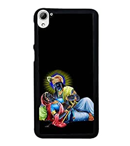 printtech Lord God Radha Krishna Back Case Cover for HTC Desire 826
