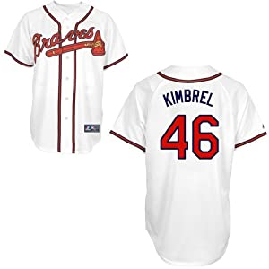 Craig Kimbrel Atlanta Braves Home Replica Jersey by Majestic by Majestic