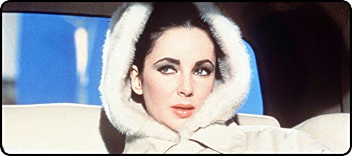 Custom Rectangular Printed Elizabeth Taylor Winter Coat Super Big Mouse Pads 900x400x4mm(35.43x15.75x0.16inch) (Taylor 900 compare prices)