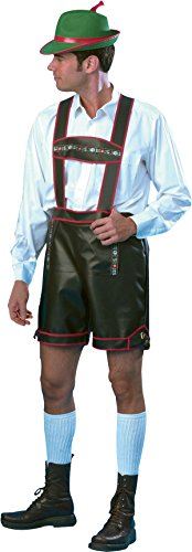 Oktoberfest Fancy Dress Party German Man Costume Short With Suspenders Outfit