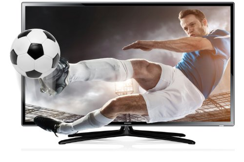 Samsung UE46F6100 46-inch Widescreen Full HD 1080p 3D Slim LED TV with Freeview HD and 2 Glasses (2013 model)