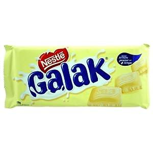 Nestlé Galak White Chocolate - 5.99oz | Nestlé Galak Chocolate Branco - 170g - (PACK OF 01)
